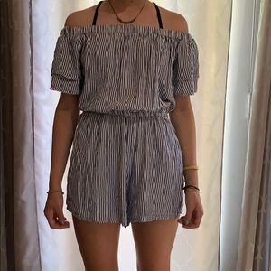 Old Navy striped romper